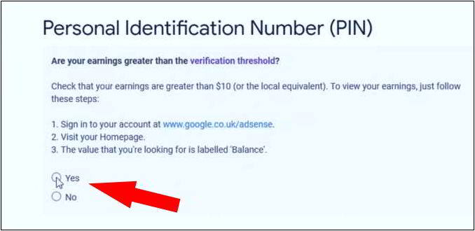 personal identification number