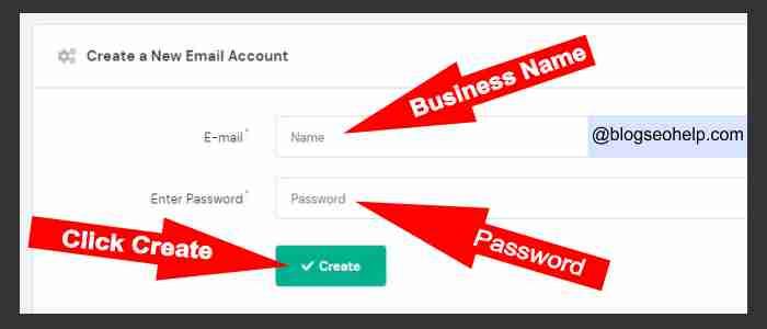 business email id कैसे बनायें