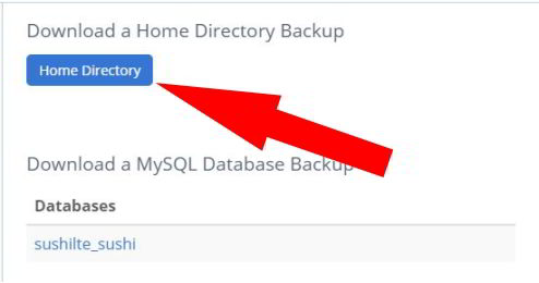 download Home Directory